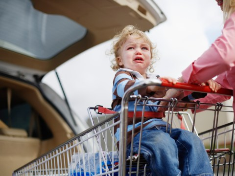 How to take a toddler out in public (if you really must)