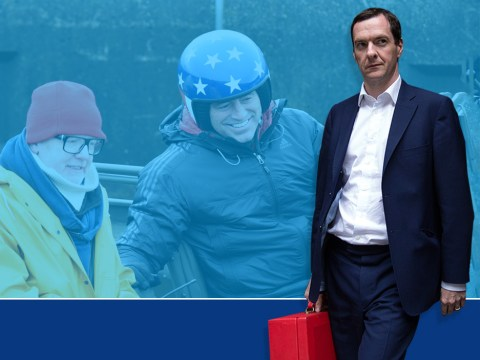 George Osborne tells Top Gear to keep the noise down as show films while he's trying to write the Budget