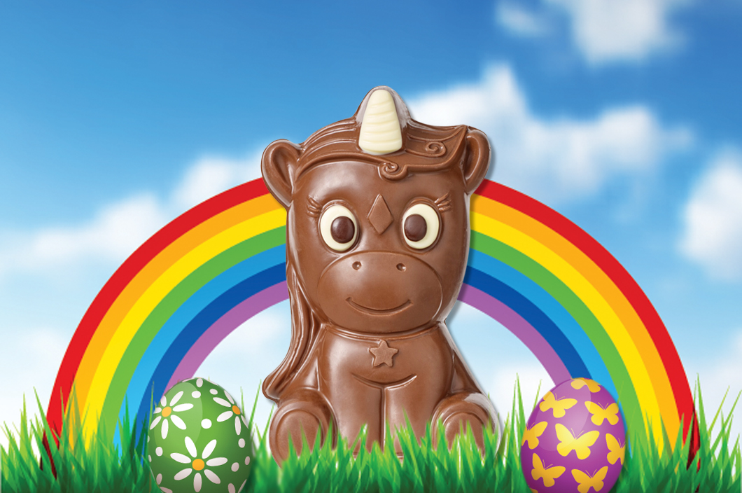 Why would you want an Easter egg when you can get a chocolate unicorn this year?
