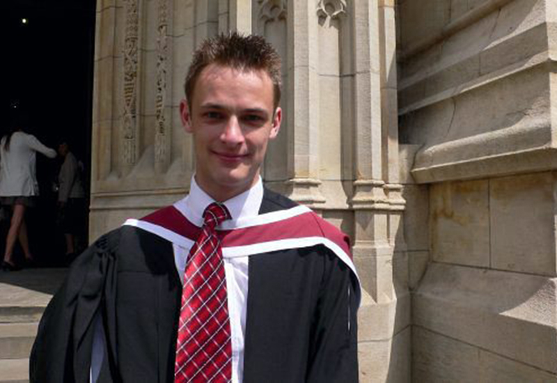 Facebook pictures from open profile of Dr Matthew Tuppeny a dedicated junior doctor who committed suicide after he feared health problems would hamper his ambitions of ''being the best'' at his job, an inquest heard.