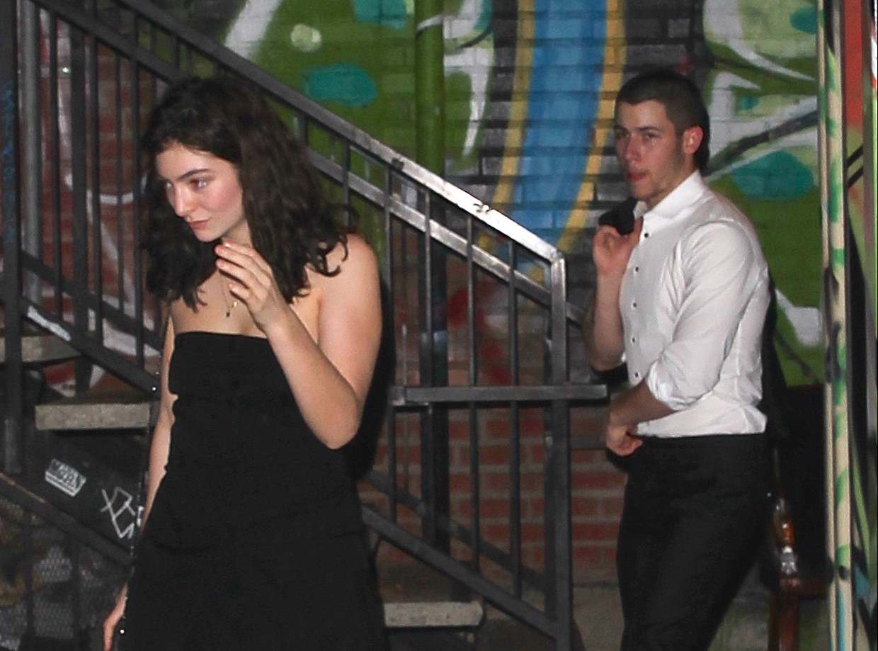 New couple alert? Nick Jonas and Lorde leave Lady Gaga's party together – and fans approve