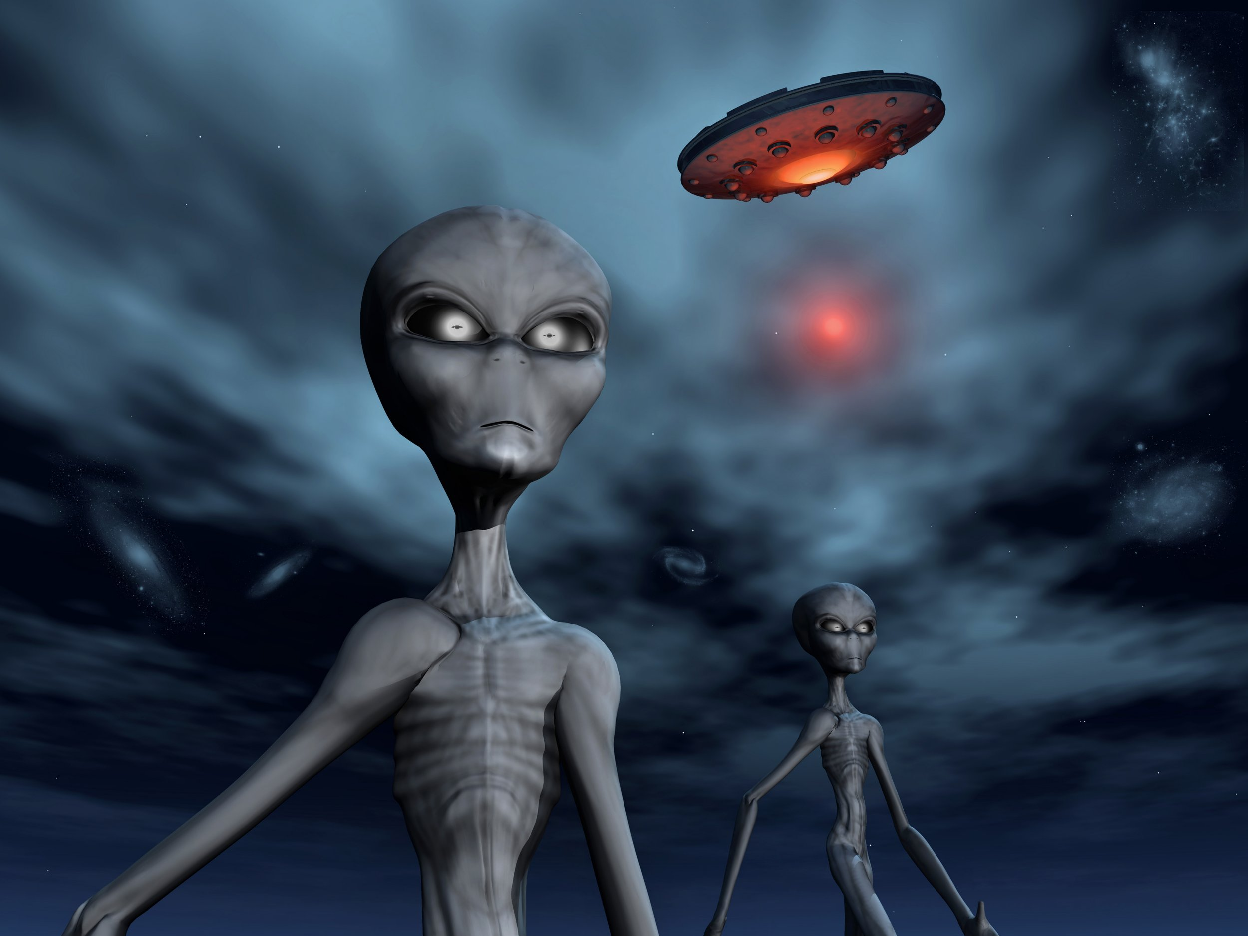 First recording of an alien voice Credit: Getty Images