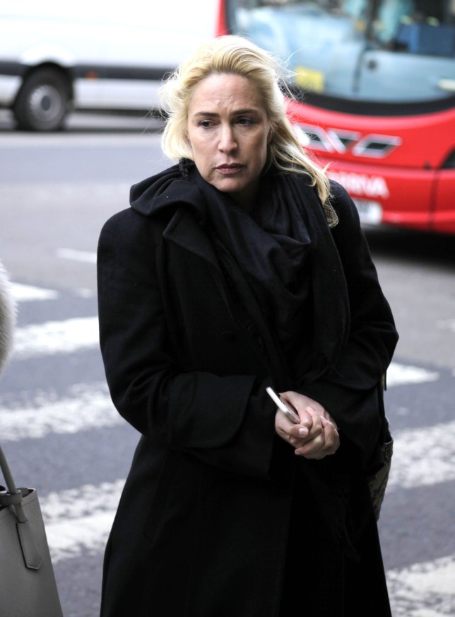 """Richard Gittins / Champion News 07948286566..champion.news.service@gmail.com..Picture shows divorced wife Maya Kanev-Lipinski, 44, outside London's High Court. She was branded """"paranoid"""" after losing her High Court fight with her ex Shahar Lipinski for control of their £18 million fortune. Any first use of image in a newspaper to be treated as live picture for payment purposes. Copyright Champion News Service Ltd 2016."""