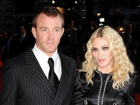 Guy Ritchie visits Madonna in London, brings a bottle of wine