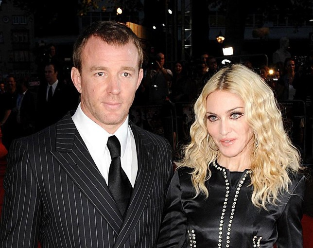 File photo dated 01/09/08 of Guy Ritchie and Madonna, who are embroiled in a family court dispute in London relating to their 15-year-old son Rocco. PRESS ASSOCIATION Photo. Issue date: Thursday March 3, 2016. A High Court judge is analysing the case following similar court hearings in New York. See PA story COURTS Madonna. Photo credit should read: Ian West/PA Wire