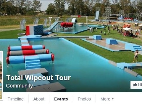 Warning that Total Wipeout Tour on Facebook could be scam