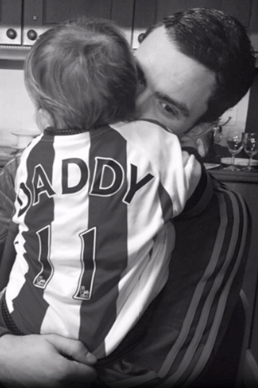 adam johnson and daughter