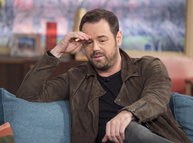 EDITORIAL USE ONLY. NO MERCHANDISING Mandatory Credit: Photo by Ken McKay/ITV/REX/Shutterstock (5613785y) Danny Dyer 'This Morning' TV show, London, Britain - 15 Mar 2016 Danny Dyer tells us about the horrors he witnessed in Sierra Leone on behalf of Sport Relief and what he hopes can be done to help.