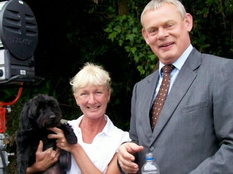 Martin Clunes has offered a £2000 reward if you can find a stolen dog