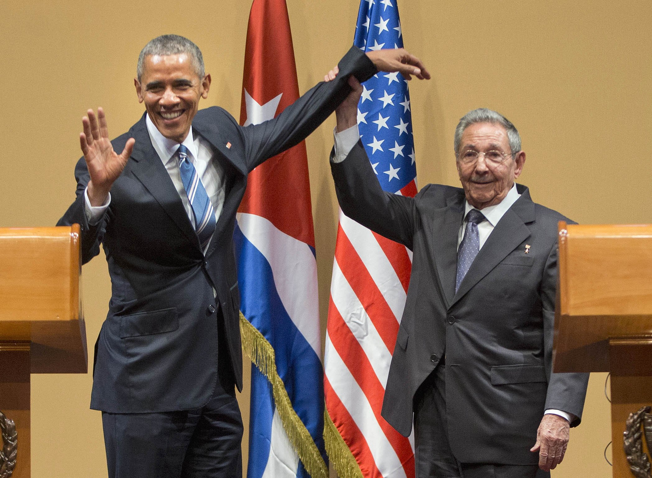Things got real awkward during Obama's trip to Cuba