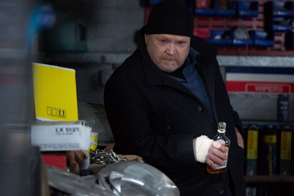WARNING: Embargoed for publication until 00:00:01 on 22/03/2016 - Programme Name: Eastenders - TX: 29/03/2016 - Episode: 5254 (No. n/a) - Picture Shows: Phil looks around the Arches. Phil Mitchell (STEVE MCFADDEN) - (C) BBC - Photographer: Jack Barnes