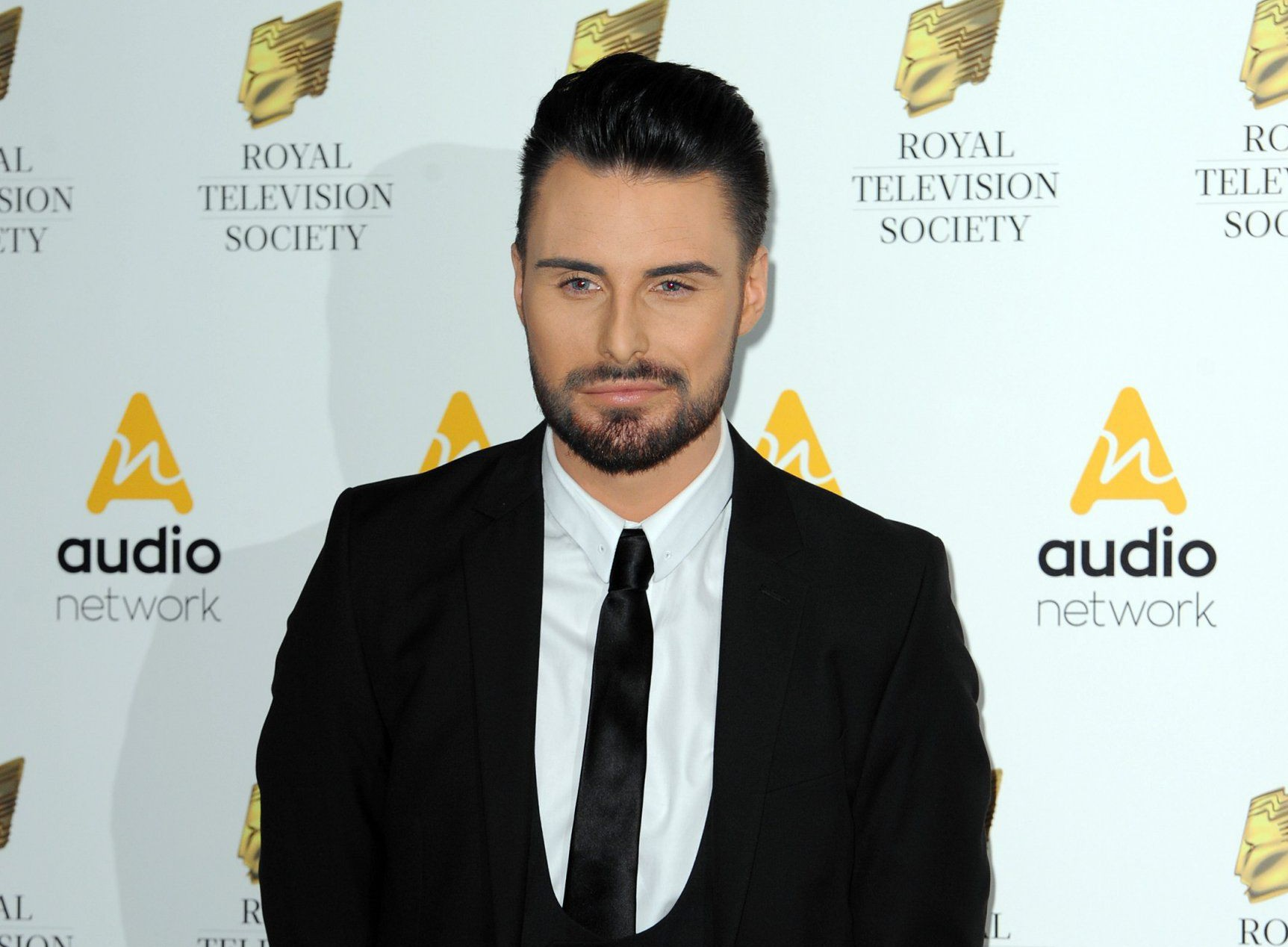 LONDON, ENGLAND - MARCH 22: Rylan Clark arrives for The Royal Television Society Programme Awards at The Grosvenor House Hotel on March 22, 2016 in London, England. (Photo by Eamonn M. McCormack/Getty Images)