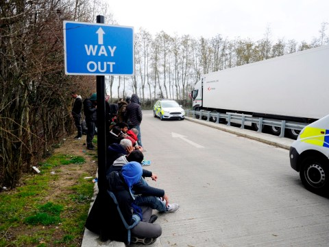 Dozens of suspected migrants discovered in two lorries in Kent