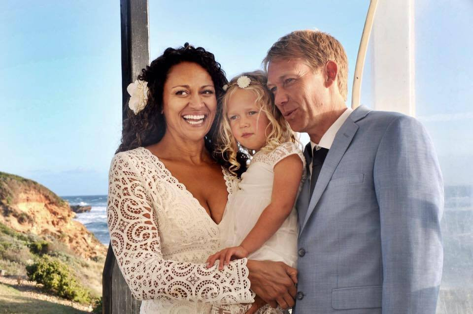 Aminah Hart from Melbourne married her sperm donor Scott Andersen