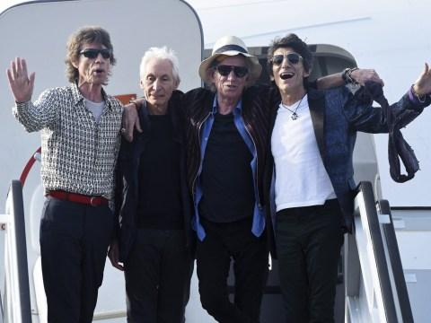 Rolling Stones touch down in Cuba ahead of historic Havana concert