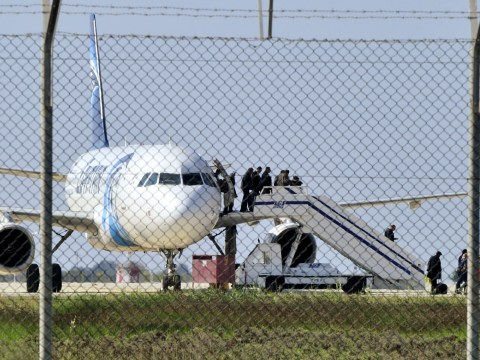 Who is the suspected EgyptAir hijacker at Cyprus Larnaca airport?