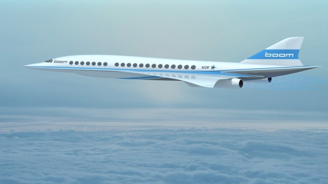 Supersonic Boom aircraft will be the fastes passenger aircraft ever credit: Boom