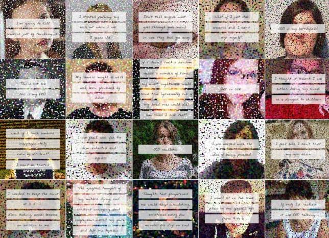 OCD sufferers share their stories on The Secret Illness'