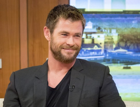 "EDITORIAL USE ONLY. NO MERCHANDISING. IN US EXCLUSIVE RATES APPLY Mandatory Credit: Photo by Ken McKay/ITV/REX/Shutterstock (5621898l) Chris Hemsworth 'Good Morning Britain' TV show, London, Britain - 31 Mar 2016 ""Thor'sday Challenge"" - Ben and Chris go head to head on our GMB Hammer-striker to see who's strongest, 2014s Sexiest Man Alive and Thor himself joins us for a live studio chat about returning as Eric in the new film THE HUNTSMAN: WINTER'S WAR. Hes also about to star in the hotly anticipated Ghostbusters movie., Action star, Australian actor, THOR BLIMEY!"