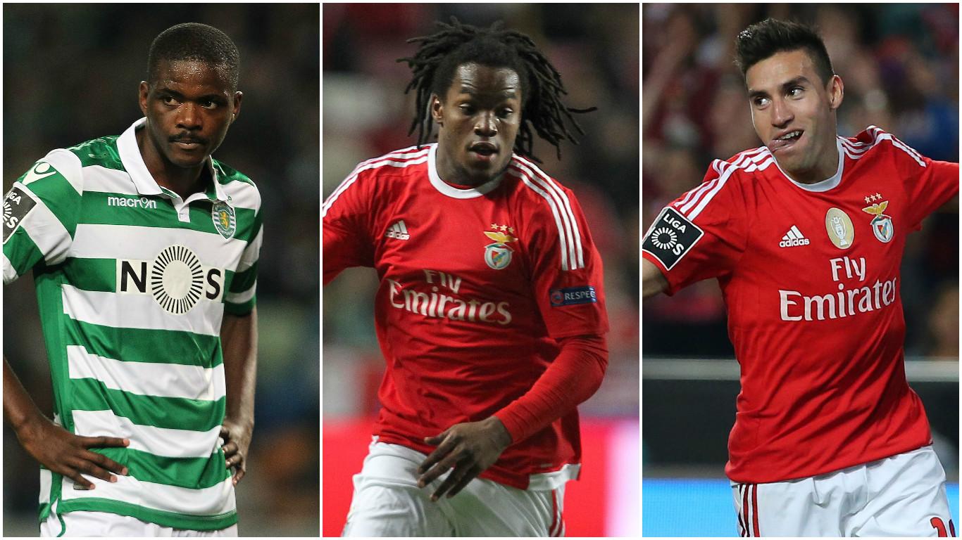 Rumour: Manchester United watching transfer targets William Carvalho, Renato Sanches and Nicolas Gaitan