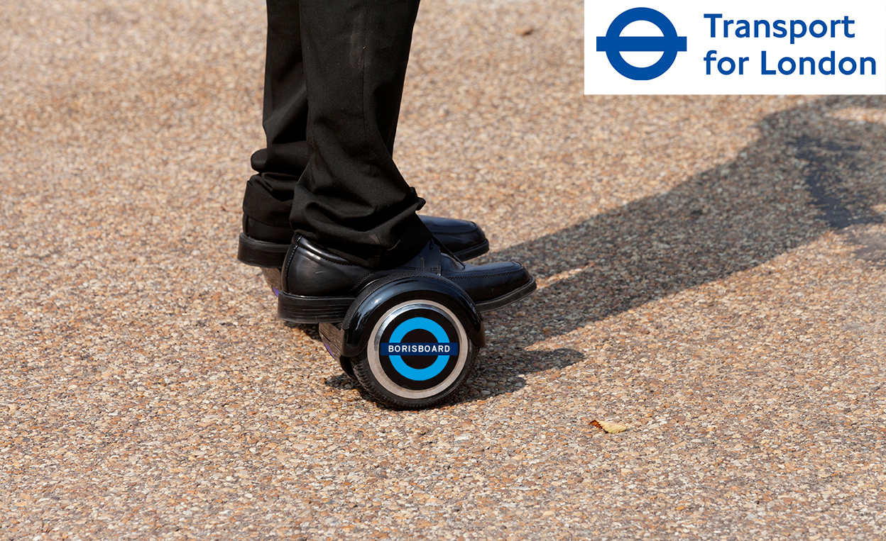 APRIL FOOL: Boris boards are here (Boris Hoverboards that don't hover)