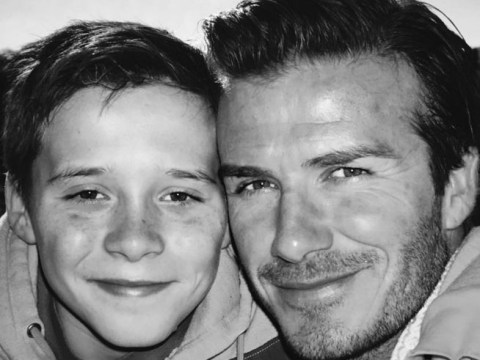 David and Victoria Beckham gush over son Brooklyn as he celebrates his 17th birthday with first driving lesson