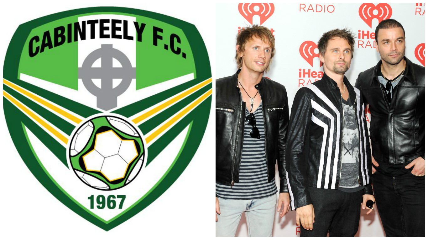 League of Ireland team Cabinteely confirm unusual friendly against Muse and their crew