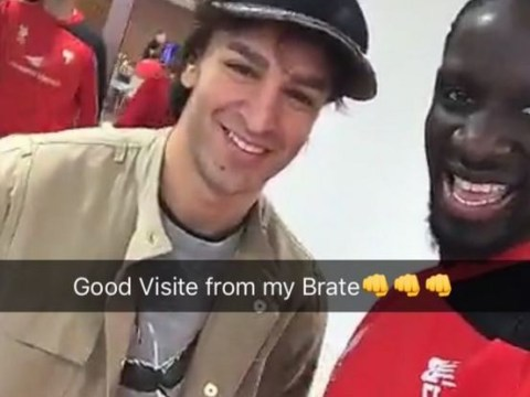 Lazar Markovic spotted at Liverpool's Melwood training ground