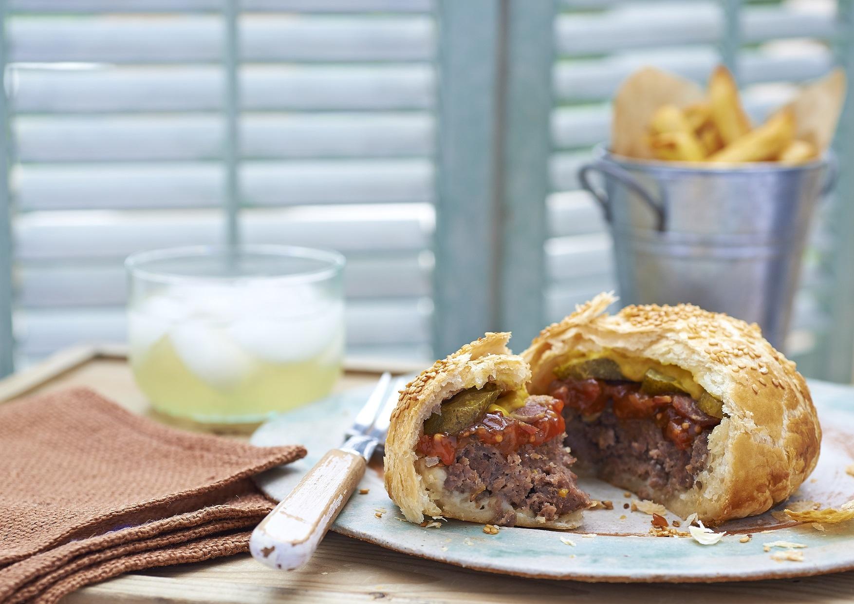 British pie week recipe: Here's how to make a pieburger