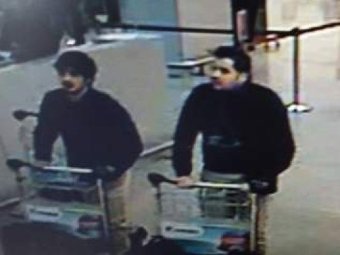Brussels attacks: Suspect on the run as police release CCTV of 'bombers'