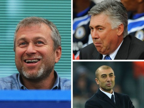 Quiz: How well do you know Chelsea's managers under Roman Abramovich, including Jose Mourinho, Carlo Ancelotti and Rafa Benitez?
