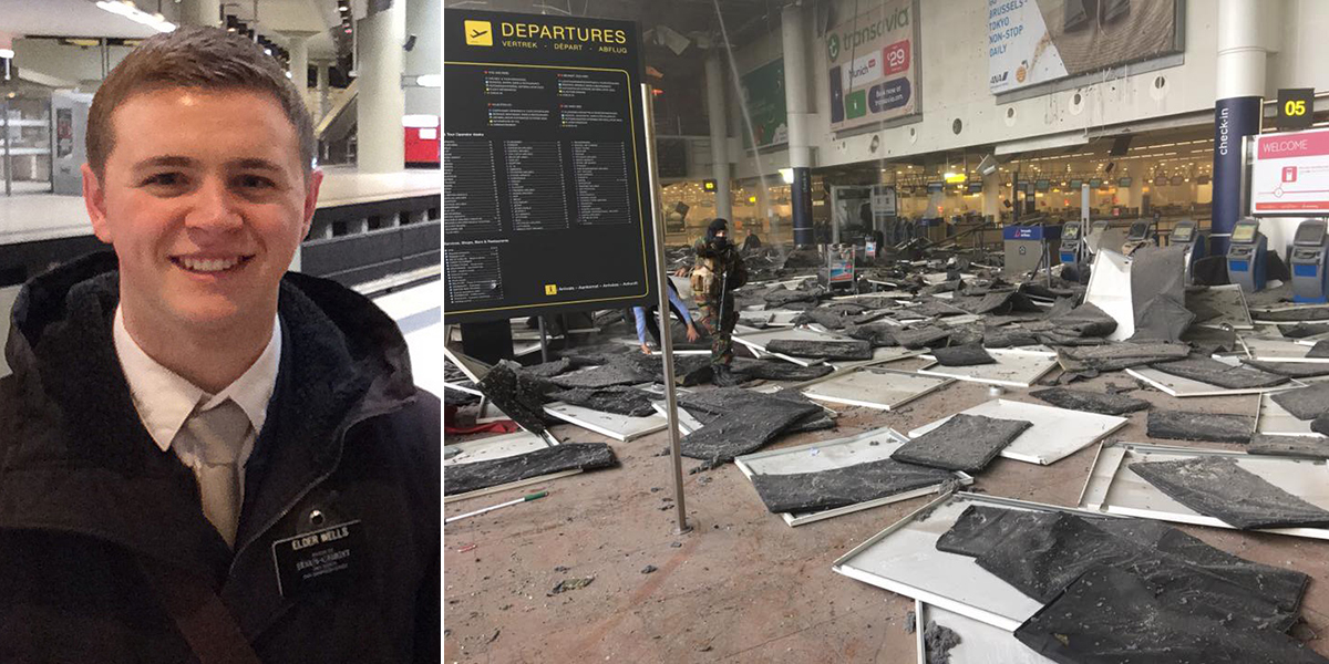 Brussels attacks: Teenager also survived Boston and Paris bombings