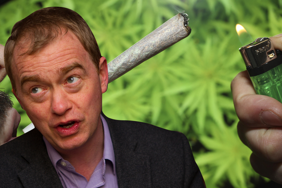 The Lib Dems have officially come out in support of weed legalisation