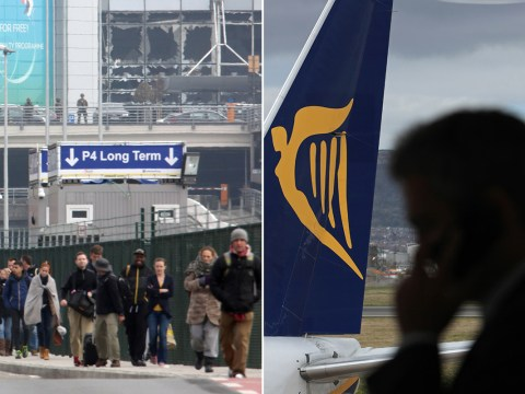 Brussels attacks: Ryanair accused of 'trying to profit' from Brits stranded in Belgian capital