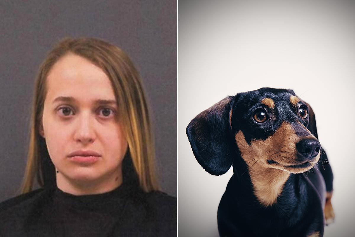 Woman arrested for 'sex acts with sausage dog on her birthday'