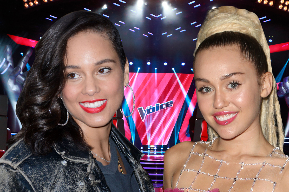 Miley Cyrus and Alicia Keys to join The Voice