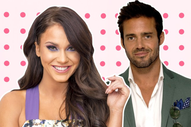 Trouble in paradise? Spencer Matthews was papped with a mystery woman just days after Vicky Pattison opened up about their relationship (Picture: Rex)