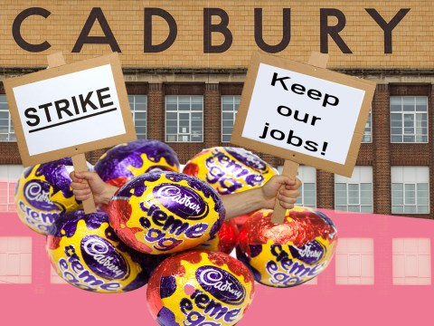 Oh no! Cadbury staff are striking (here's why you'll still get your Easter Eggs)