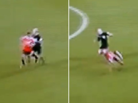 Manchester United fans order Mike Dean to send himself off for fouling Marcus Rashford