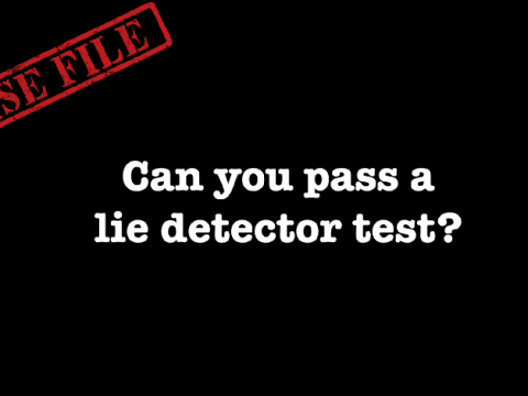 WATCH: Could you be an FBI agent and pass a lie detector test?