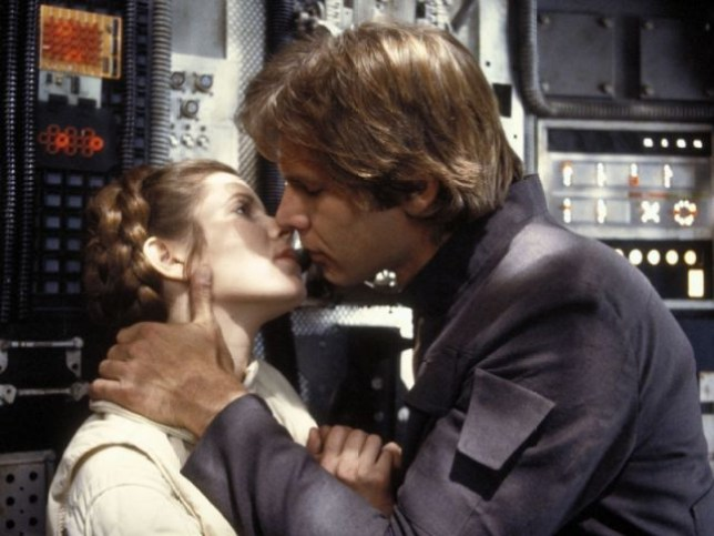Princess Leia and Han Solo are our romance goals (Picture: Lucasfilm)