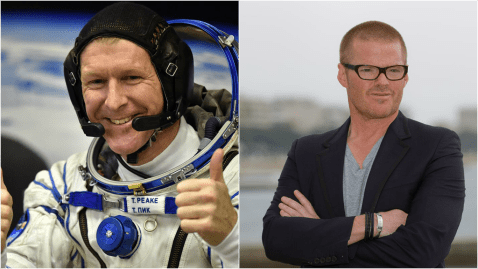 'World's most expensive bacon sandwich' sent into space for Tim Peake by Heston Blumenthal
