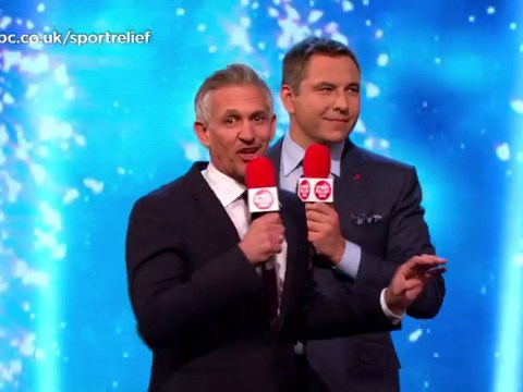 Sport Relief and Gary Lineker gave viewers a classic live TV gaffe