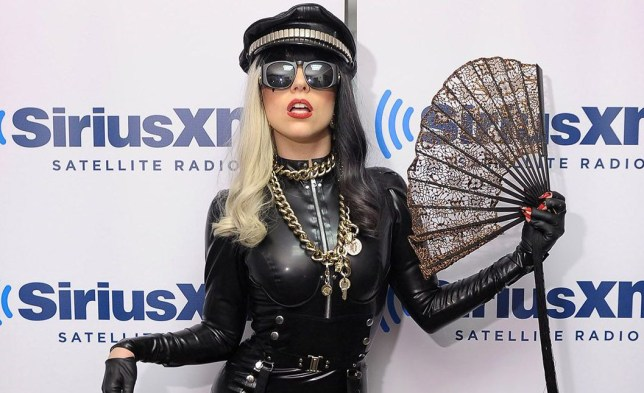 "NEW YORK, NY - JULY 18: Lady Gaga visits ""The Morning Mash Up"" on SiriusXM Hits 1 at SiriusXM Studio on July 18, 2011 in New York City. (Photo by Michael Loccisano/Getty Images)"