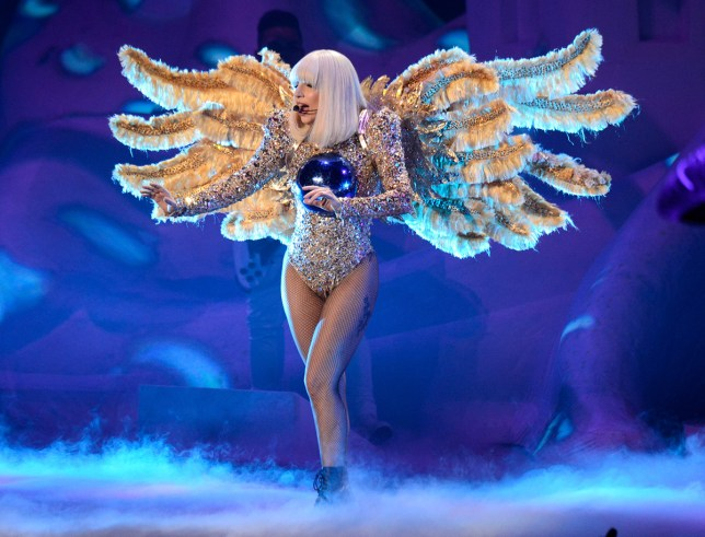 "NEW YORK, NY - MAY 13: (Exclusive Coverage) Lady Gaga performs during her ""artRave: The Artpop Ball"" tour at Madison Square Garden on May 13, 2014 in New York City. (Photo by Kevin Mazur/WireImage)"