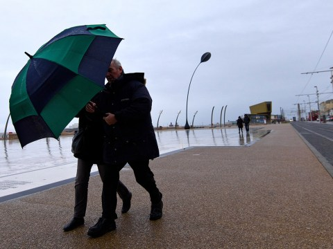 Wind, rain and snow to hit UK today with travel chaos expected