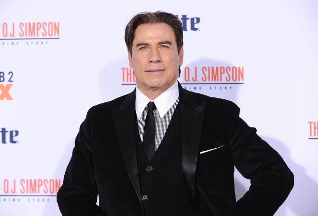 "WESTWOOD, CA - JANUARY 27: Actor John Travolta attends the premiere of ""American Crime Story - The People V. O.J. Simpson"" at Westwood Village Theatre on January 27, 2016 in Westwood, California. (Photo by Jason LaVeris/FilmMagic)"