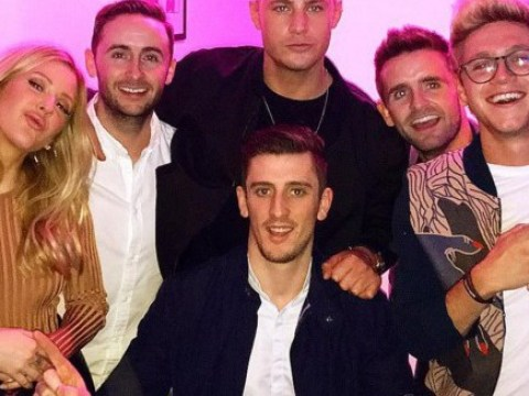Ellie Goulding parties with her new BFF Scotty T and her old flame Niall Horan