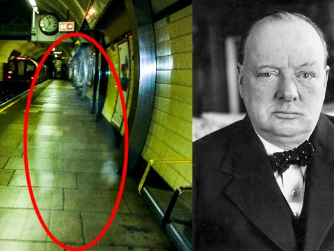 Man claims to have spotted Winston Churchill in worst ghost picture ever