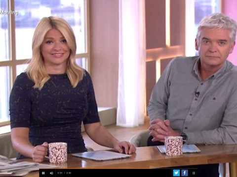 Holly Willoughby turned up to work on This Morning absolutely knackered, again